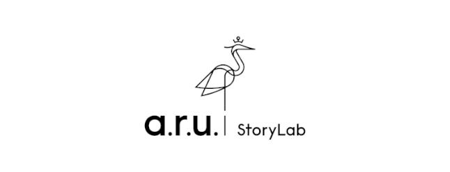 StoryLab ARU Logo black