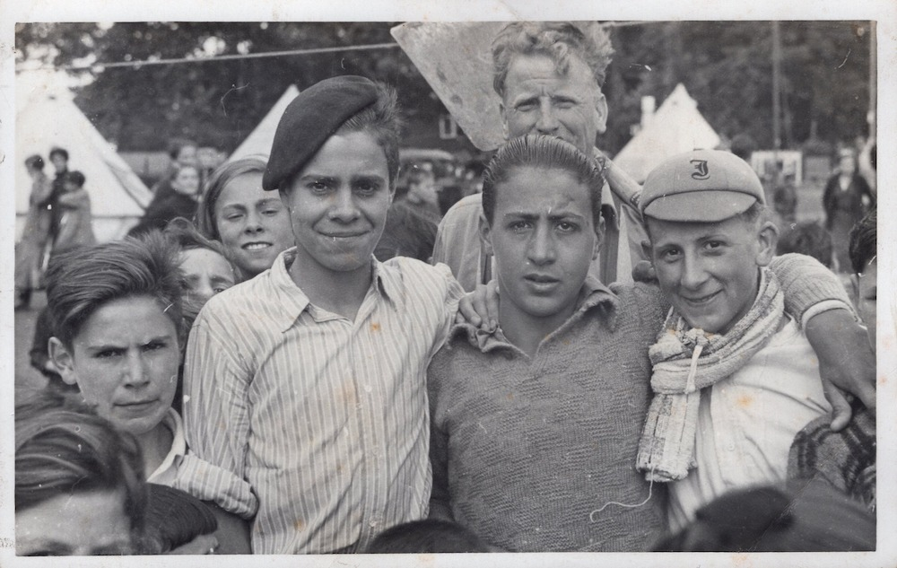 Some of the older Basque Boys - from Poppy Vulliamy photo album, 1937.